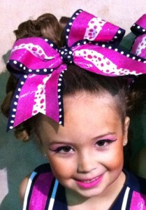 headshot 209x300 How To Make a Rockin Cheer Bow