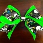Duct Tape Cheer Bow