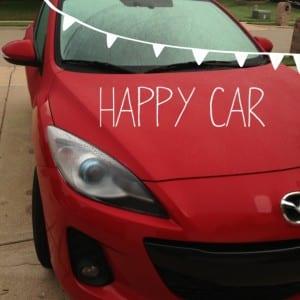 Smiling Mazda 3
