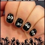 Spooky Eyeball Nails from TotallytheBomb.com