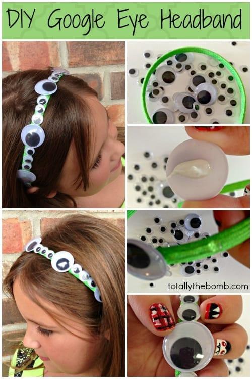 DIY Google Eye Headband from TotallyTheBomb.com