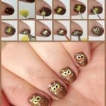 Owl Nails by Totally The Bomb.com