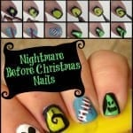 How To Paint Nightmare Before Christmas Nail Art