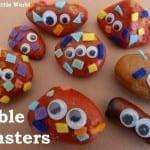Pebble Monsters from Jennifer's Little World