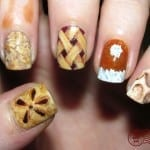 Pumpkin Pie Nails by The Daily Nail Blog