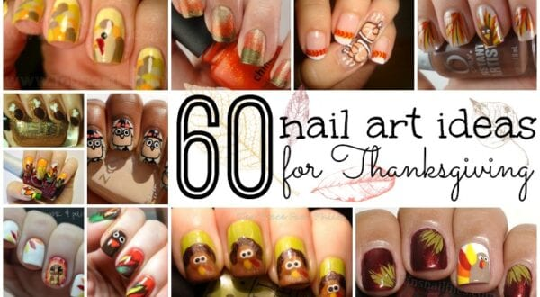 60 nail art ideas for thanksgiving