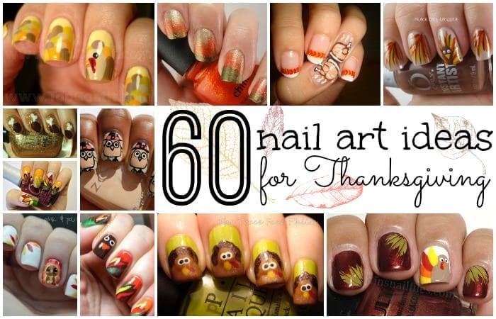 60 nail art ideas for thanksgiving