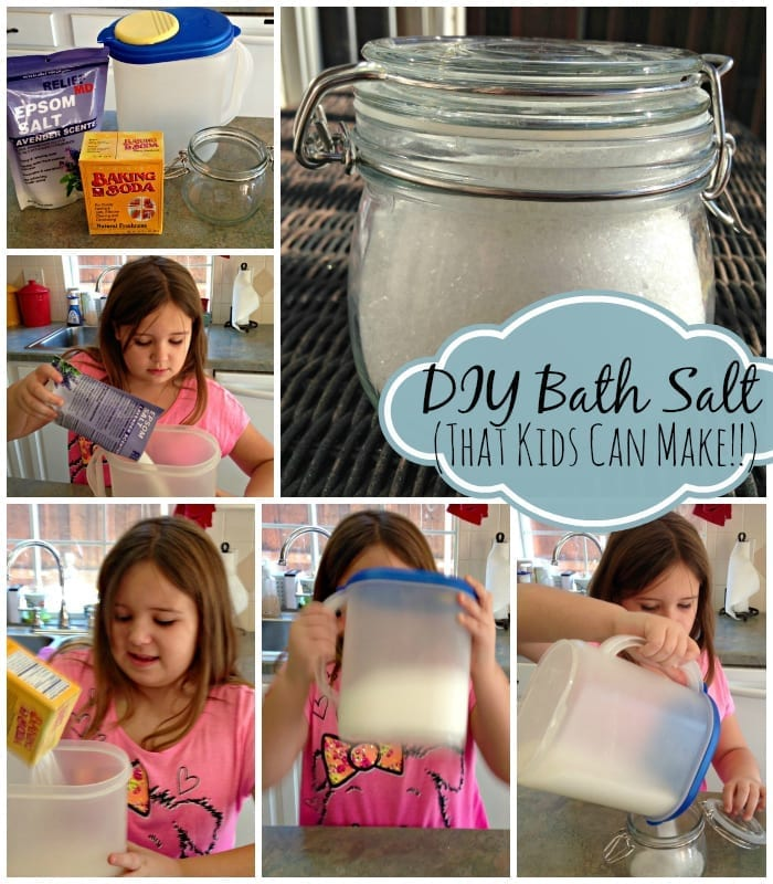 DIY Bath Salt That Kids Can Make