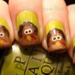 Turkey Nails by the Trace Face Philes