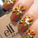 Google Eyed Nails by Galactic Lacquer