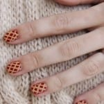 Cherry Pie Nails by Refinery 29