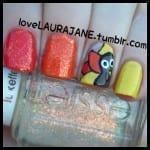 Turkey Nails by Love Laura Jane