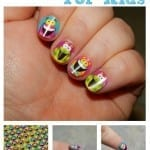 DiY Sticker Nail Art