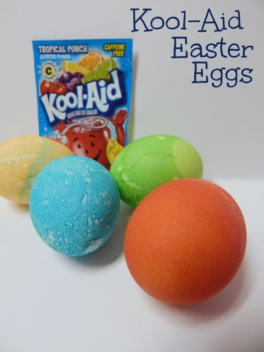 Koolaid Dyed Easter Eggs by Totally the Bomb