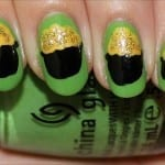 Pot of Gold Nail Art Tutorial Photos St. Paddys Day Nails 150x150 St. Patricks Day Nail Art Ideas