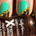 Sally Hansen Pumpkin Spice 150x150 St. Patricks Day Nail Art Ideas