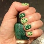 St. Patricks Day Manicure Essie Navigate Her OPI Jade Is The New Black Nail Polish Jamie Allison Sanders The Beauty Of Life 150x150 St. Patricks Day Nail Art Ideas