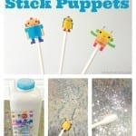 Sticker Stick Puppets from Totally The Bomb