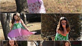 TwirlyGirl Girls Maxi Dress