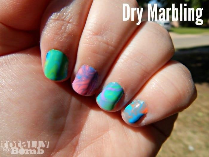Spring Nail Trends Alert! Dry Marbling is SO EASY!
