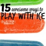 15 awesome ways to play with ice from totally the bomb