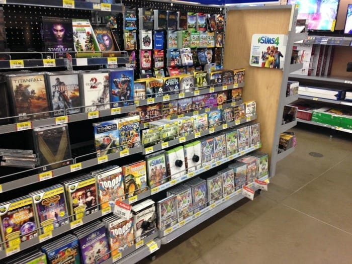 The Sims 4 at Walmart