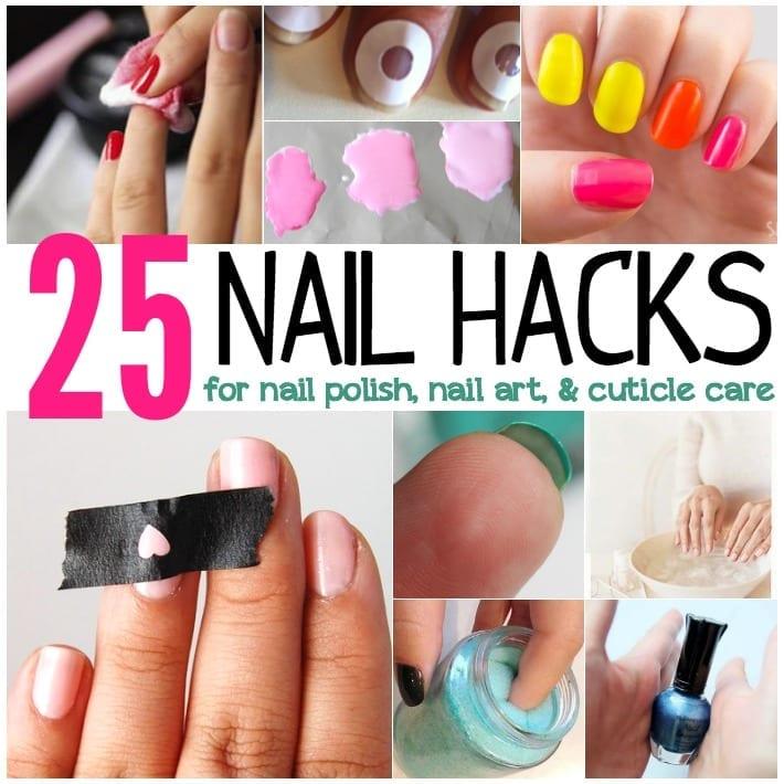 25 nail hacks