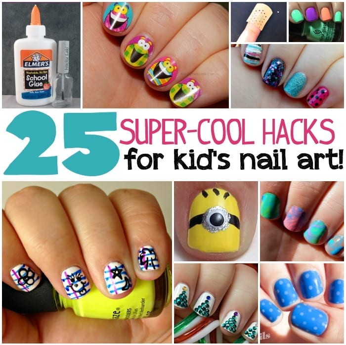25 super cool nail art hacks