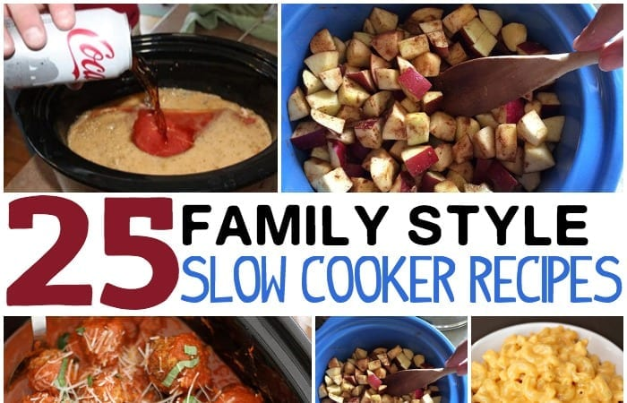 FAMILY STYLE SLOW COOKER