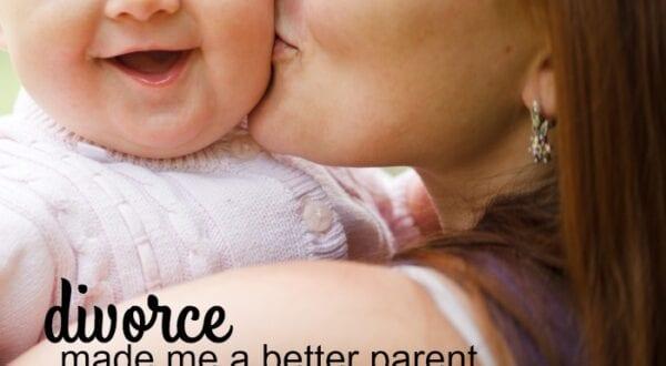 divorce made me a better parent