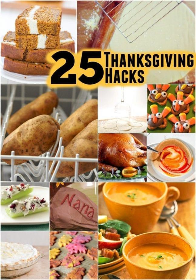 25 Thanksgiving Hacks