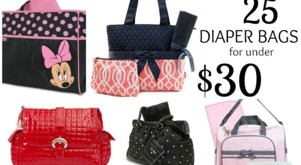 Diaper Bags under 30 Feature