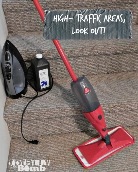 Floor Cleaning Hacks Stairs