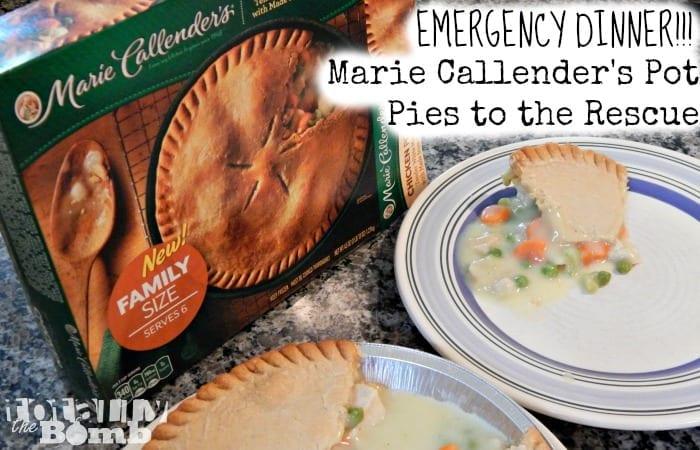 Marie Callenders Pot Pies Feature