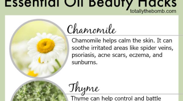essential oil beauty hacks
