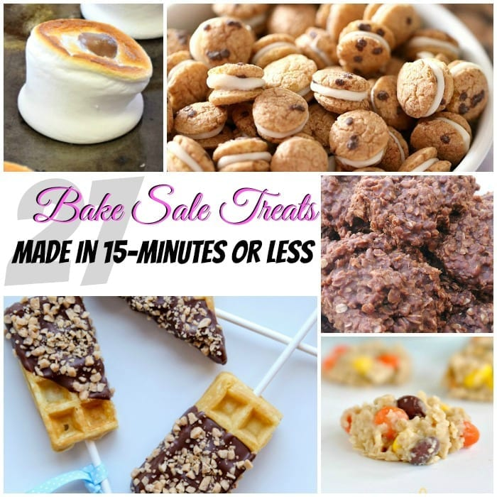 Bake Sale Treats Fast Easy Square w txt