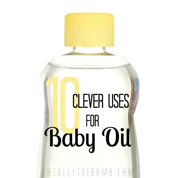 Clever Uses Hack Tip Trick for Baby Oil Sq