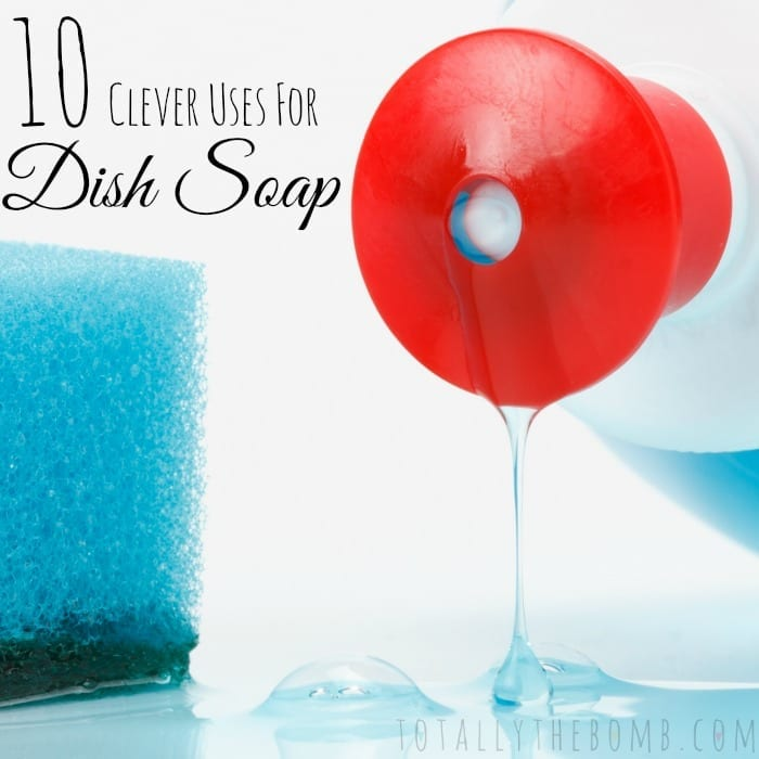 Clever Uses Hack Tip Trick for Dish Soap Sq
