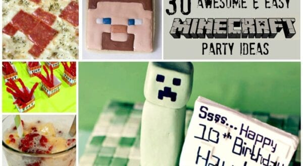 Minecraft Party Ideas Easy Cool Feature w txt