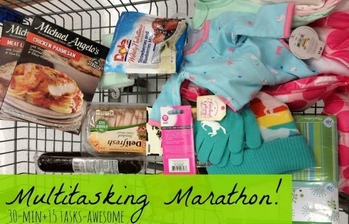 Multitasking Cart Feature