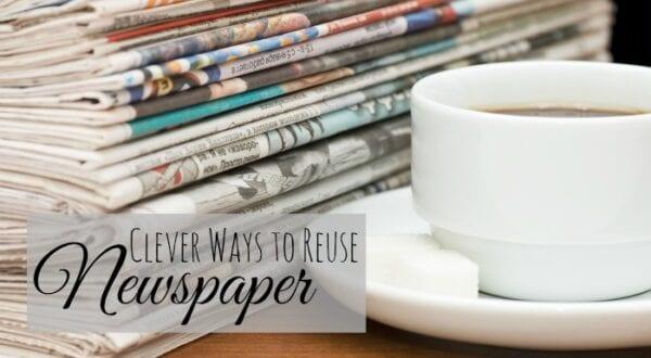 Reuse Newspaper