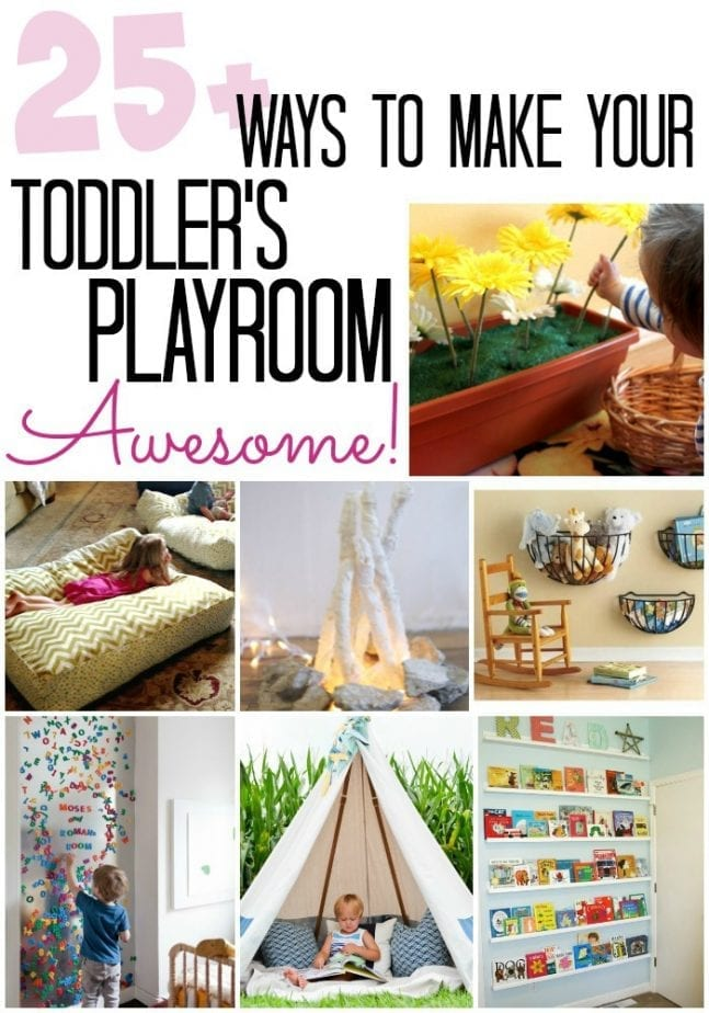 Toddler Playroom Awesome Pin w txt