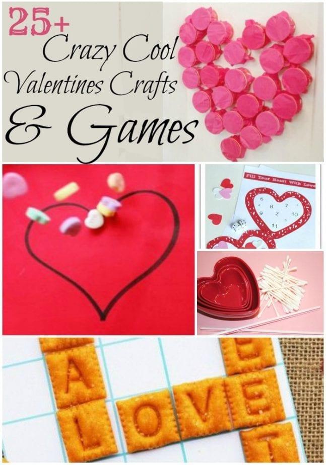 Valentines Class Easy Fun Craft Ideas Pin w txt