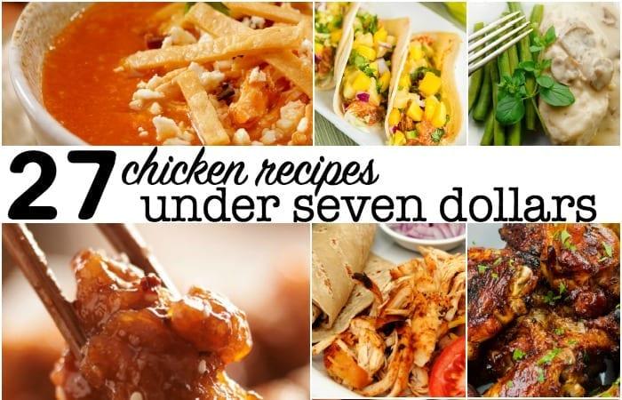 chicken recipes under seven dollars