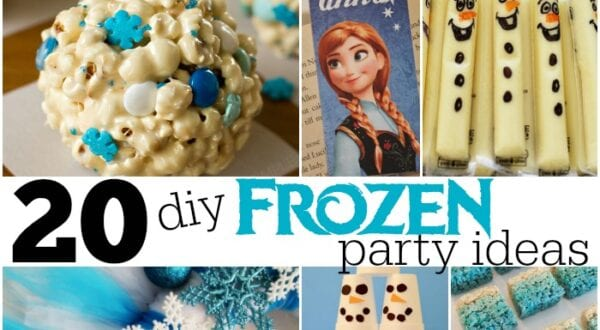 diy frozen party ideas