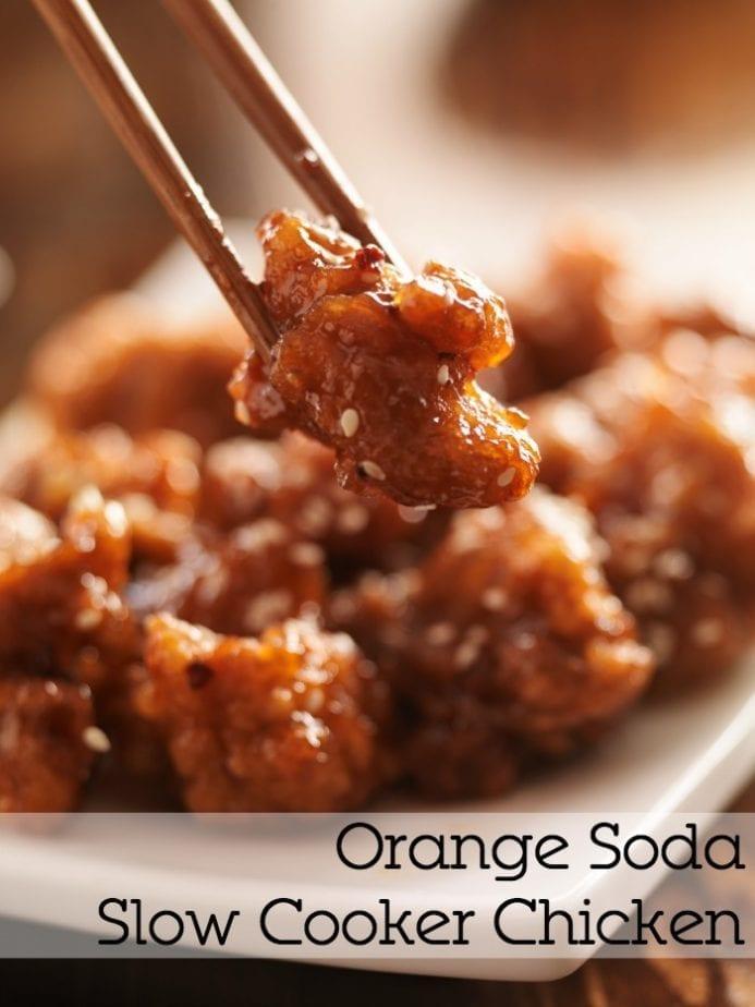 orange soda slow cooker crockpot chicken