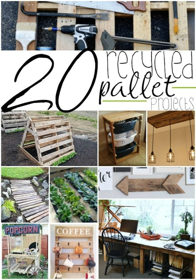 20 Recycled Pallet Ideas