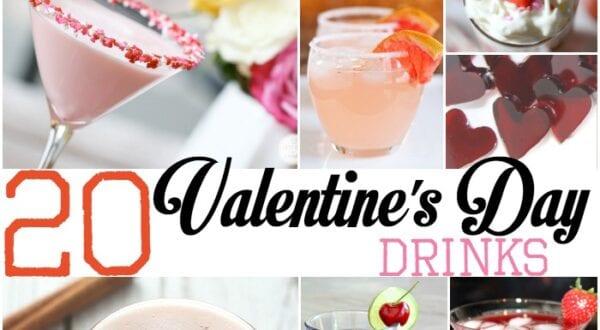 valentines day drinks
