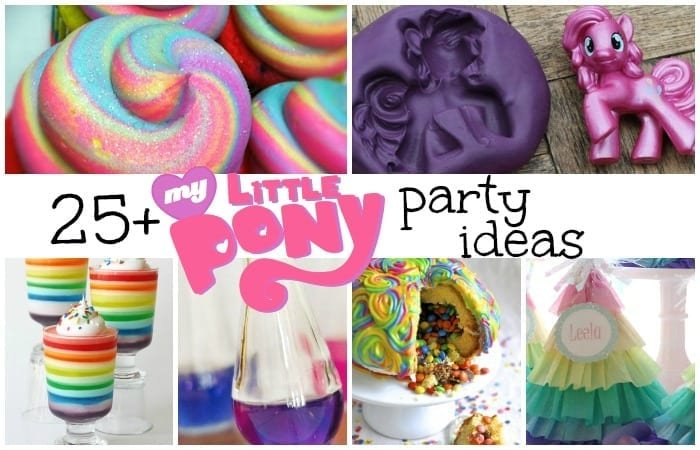 My Little Pony Party Ideas feature w txt