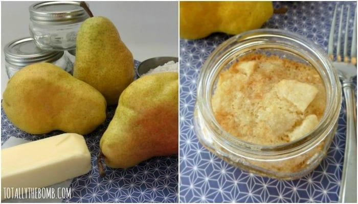 Pear Dump Cake Recipe